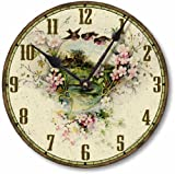 Item C2038 Vintage Victorian Style 10.5 Inch Country Cottage Clock