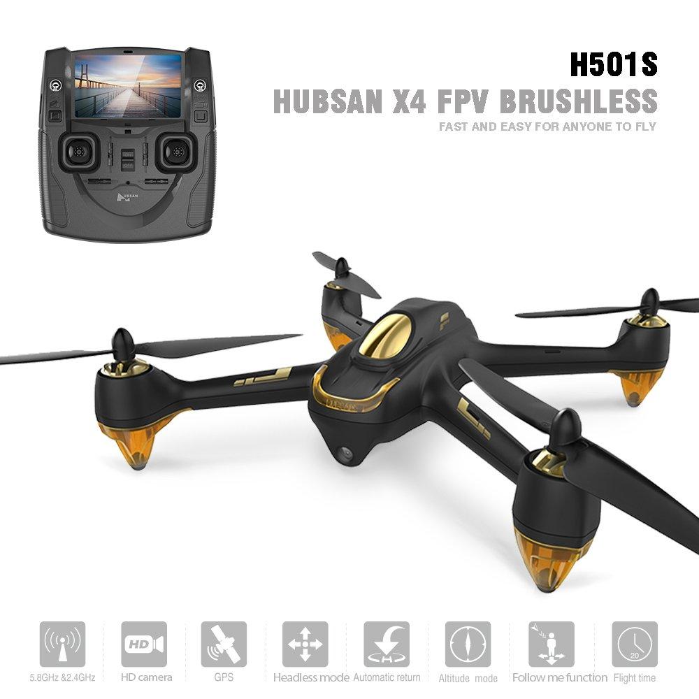 Hubsan H501S X4 Brushless Drone GPS 1080P HD Cámara 5.8Ghz FPV 2.4 ...