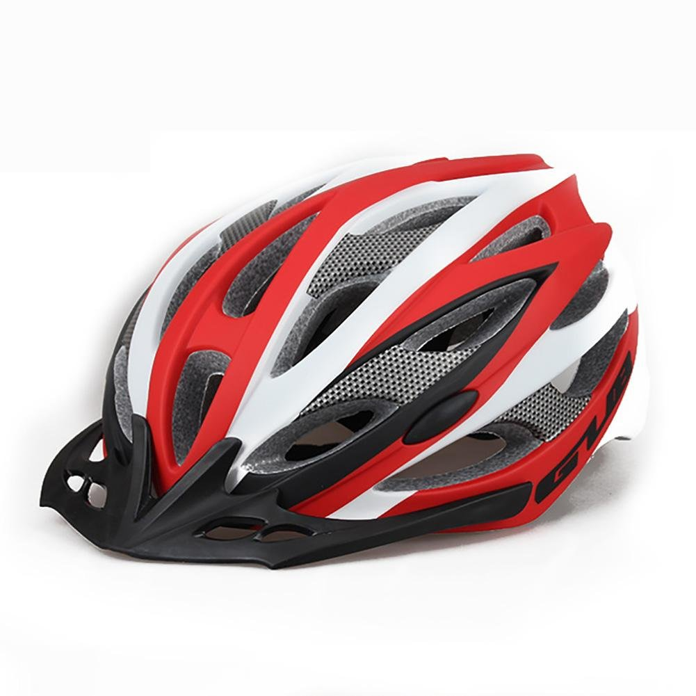 MIAO Cascos de bicicleta - equipo de guardia de seguridad de equitación de casco de bicicleta de gran tamaño al aire libre de gran tamaño , grey