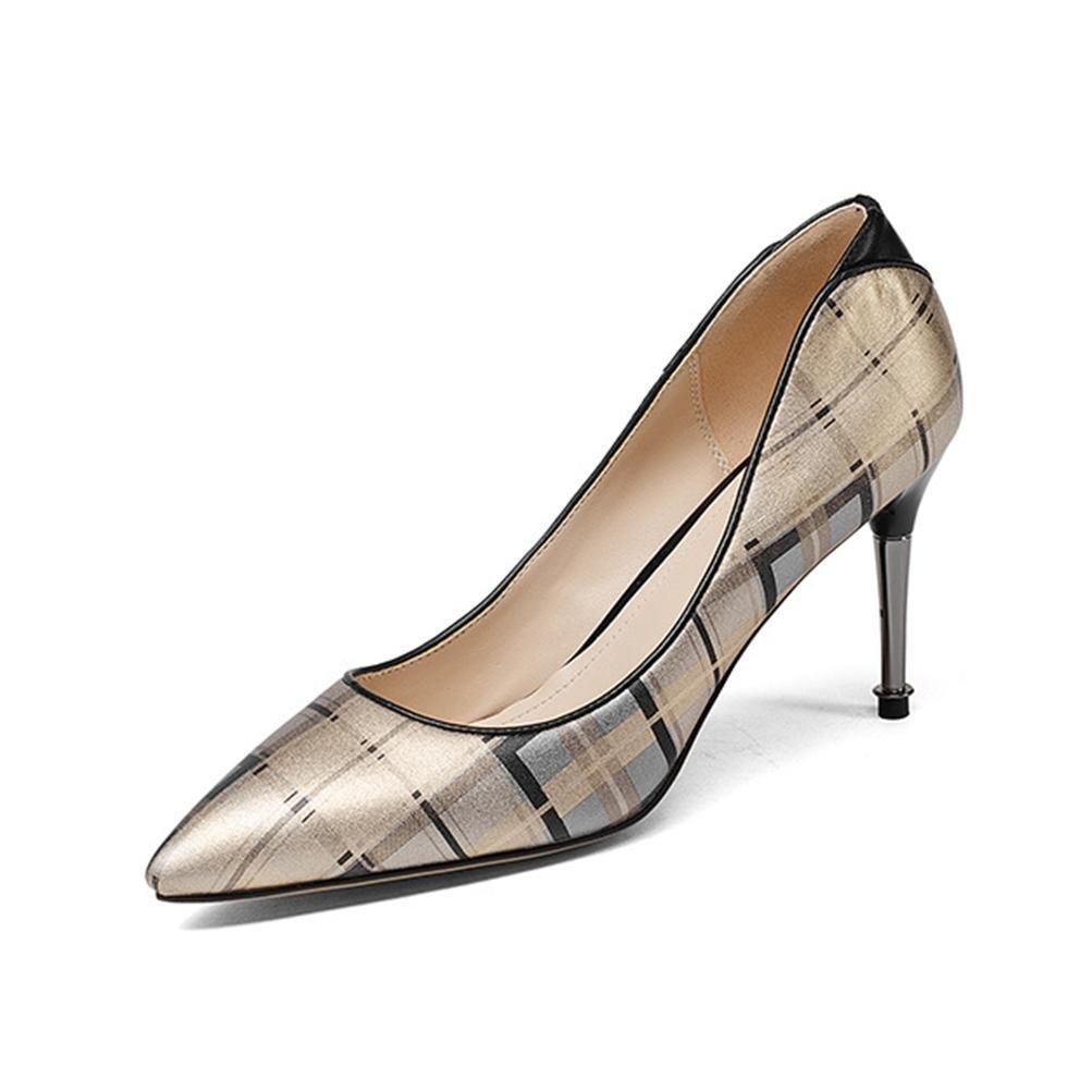 30% de descuento XIE Zapatos de mujer con punta de tacón fino Alien Heel  Lattice 0898130bfd78