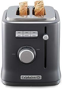 Calphalon 2084021 Intellicrisp 2 Slice Toaster, Black
