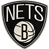 Official Brooklyn Nets Logo Large Sticker Iron On NBA Basketball Patch Emblem
