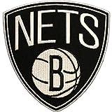 Official Brooklyn Nets Logo Large Sticker Iron On NBA Basketball Patch Emblem