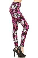 Leggings Depot Women's Ultra Soft Popular Best Printed Fashion Leggings BAT27