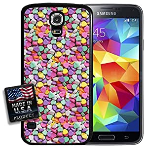 Candy Hearts Sweets Valentine's Day Galaxy S5 Hard Case