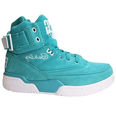 Ewing Athletics 33 Hi Turquoise White Soft Teal Basketball Shoes