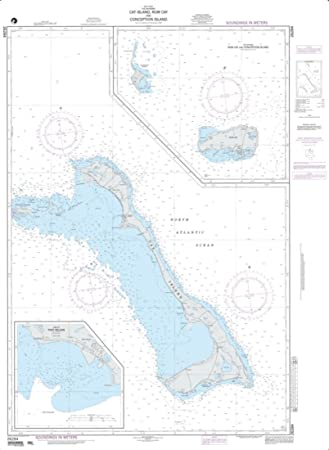 NGA Diagramm 26284-cat Insel, rum Cay und Konzeption Insel; Panel A ...