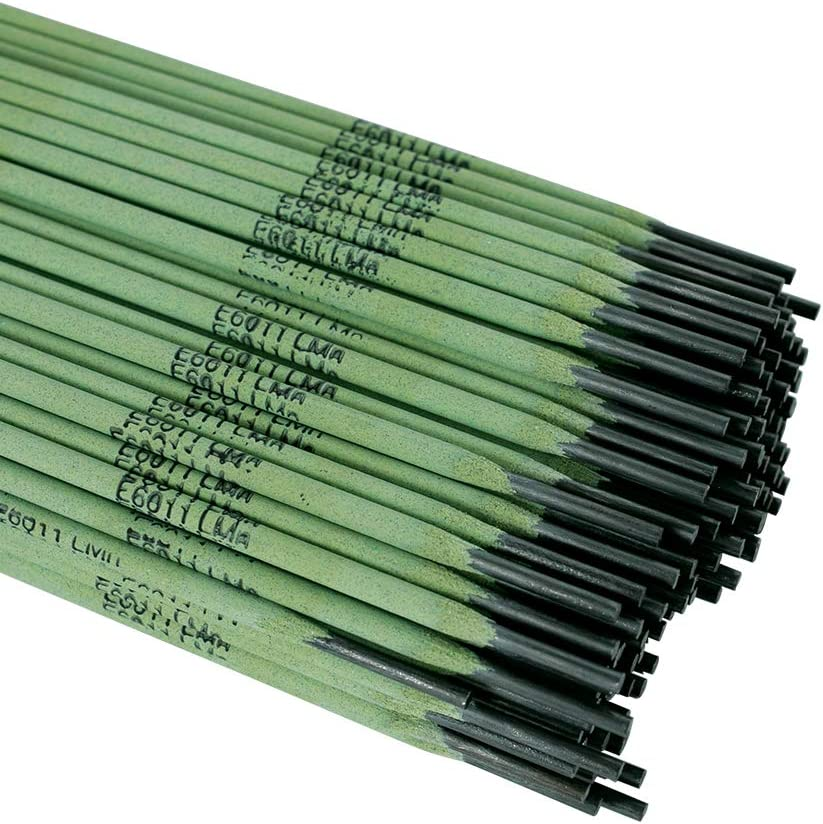 Weldcote Metals E-6011 Low Manganese Emission Stick Welding Electrodes 1//8-5 lbs