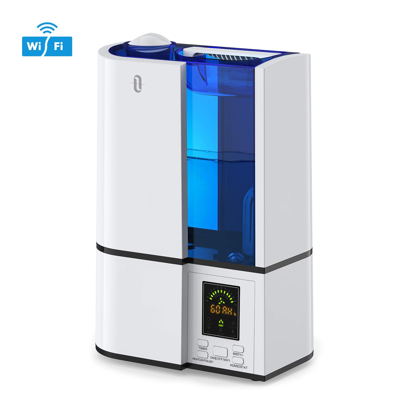 TaoTronics 4L Wi-Fi Smart Cool Mist Humidifiers