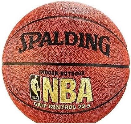 Amazon.com: Spalding – Balón de baloncesto Grip Control 28.5 ...