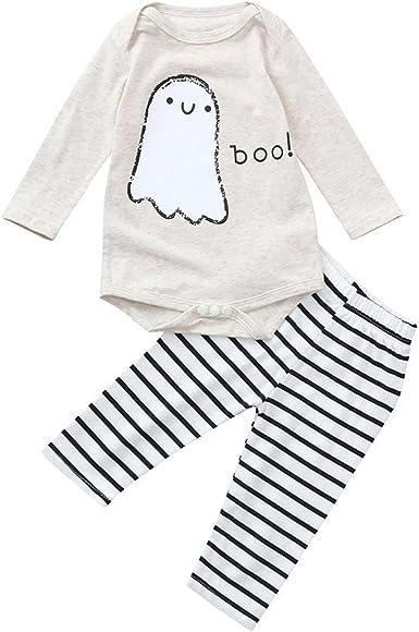 MAYOGO Halloween Ropa para bebé Niño Mameluco Conjunto ...