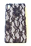 Designer White Flower Lace Phone Cover Back Case For Sony Ericsson Xperia Z2