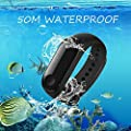 Xiaomi Fitness Tracker, Mi Band 3 Heart Rate Monitor Activity Tracker Watch 50M Waterproof Smart Bracelet 0.78 OLED Display Weather Forecast Wristband Pedometer Calories Burned Sleep Monitor Black