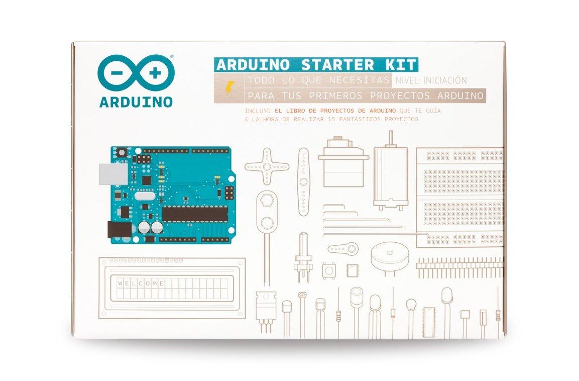 Arduino Starter Kit For Beginner K030007 [Spanish Projects Book] on