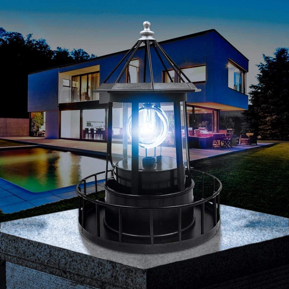 Luces solares Jard/ín decorativo Colgante Linternas con energ/ía solar L/ámpara solar LED Faro giratorio LED solar impermeable para jard/ín Linterna al aire libre /Árbol de banquete de boda