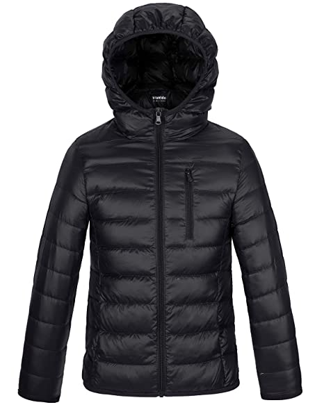 Amazon.com: Wantdo Chamarra de invierno con capucha para ...