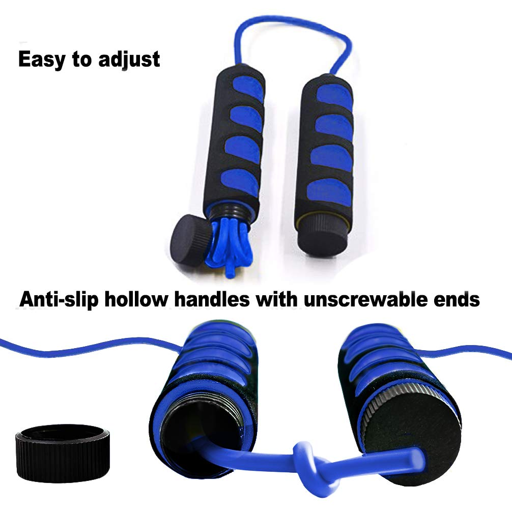 Aoneky Children Skipping Rope for Kids 9ft Lightweight Foam Jumping Rope with Comfortable Handle