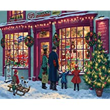 White Mountain Puzzles Christmas Toy Shop - 1000 Piece Jigsaw Puzzle