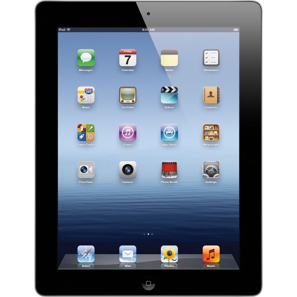 Apple iPad 3rd Generation 9.7'' Tablet - 16GB, Black, WiFi + Cellular, Unlocked GSM (Certified Refurbished)