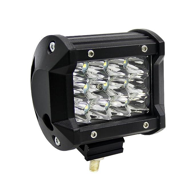 """83 opinioni per 4"""" SUV Faretto Faro 36W Tre File Luce LED Bar Modified OFF-ROAD 4x4 Luci Tetto"""
