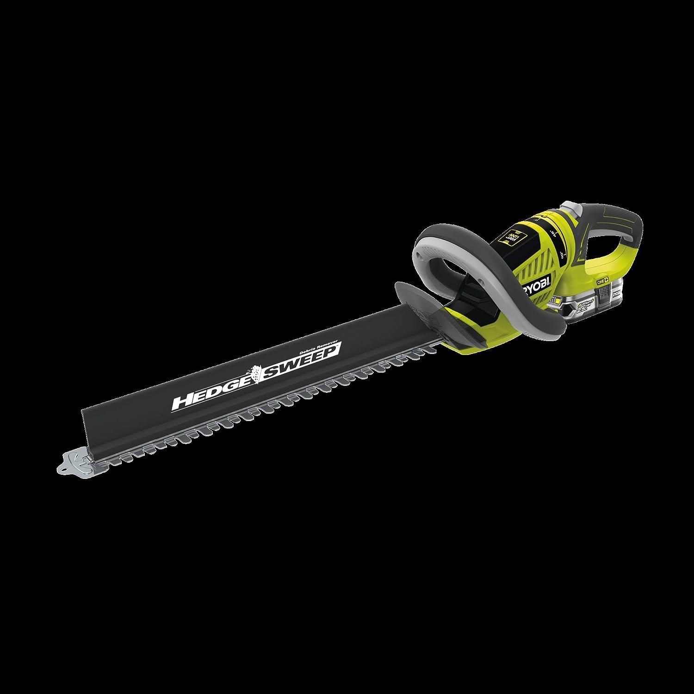 Ryobi RHT1851R25F - Cortasetos (18 V, longitud de la cuchilla 50 cm, grosor de corte 22 mm, con batería y cargador)