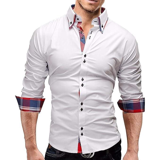 Bestow Camisa a Cuadros de los Hombres Camisa a Cuadros de la Camisa a Cuadros de