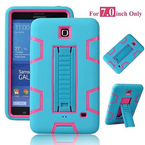 Amazon.com: Galaxy Tab 4 7.0 Case, magicsky 3 in1 Heavy Duty ...