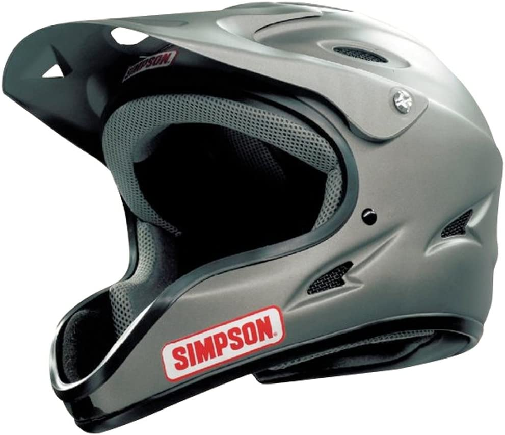Simpson 1450038 Pit Warrior OTW Black Large Helmet