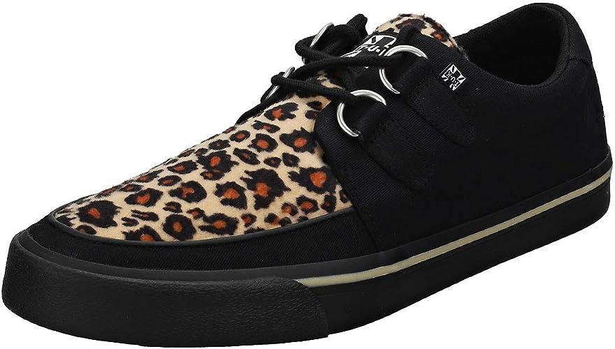 T.U.K Vlk D Ring Creeper Sneaker Blk