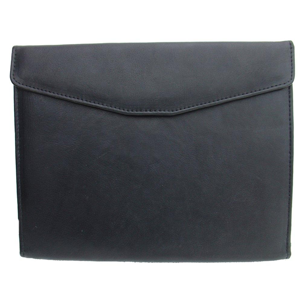 Piel Leather Envelope Padfolio, Black, One Size