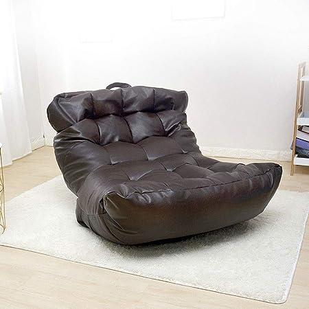 Amazon.com: HX Bean Bag Chair Lazy Couch PU Leather Bean