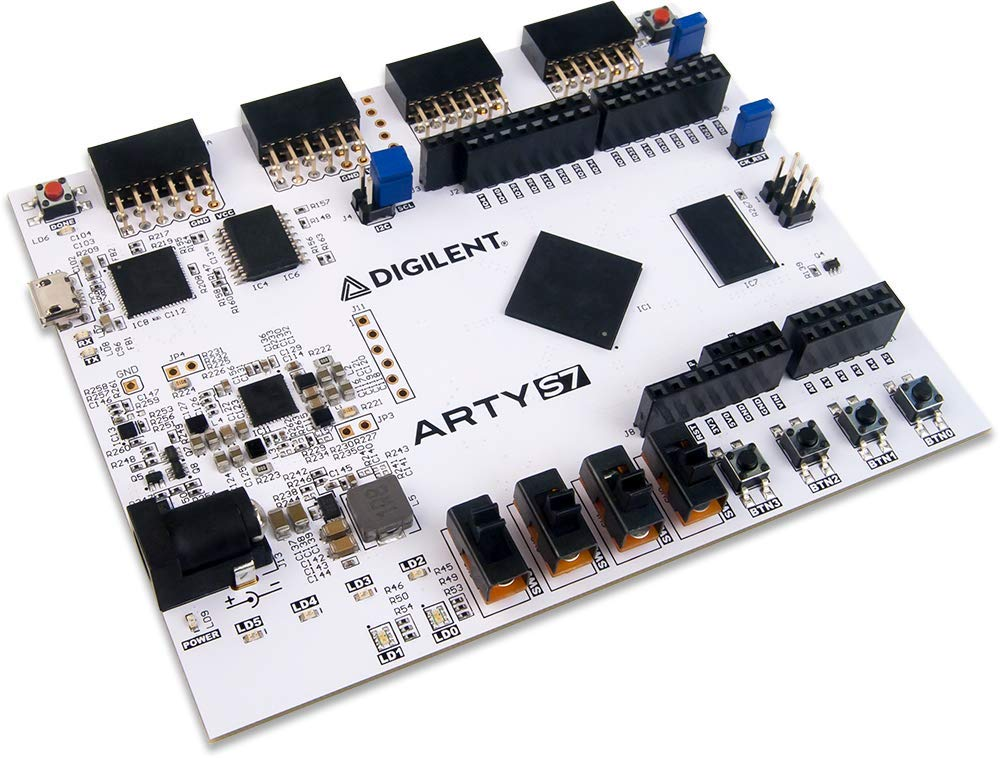 Digilent Arty S7: Spartan-7 FPGA Board for Makers and Hobbyists (Arty S7-25) by Digilent