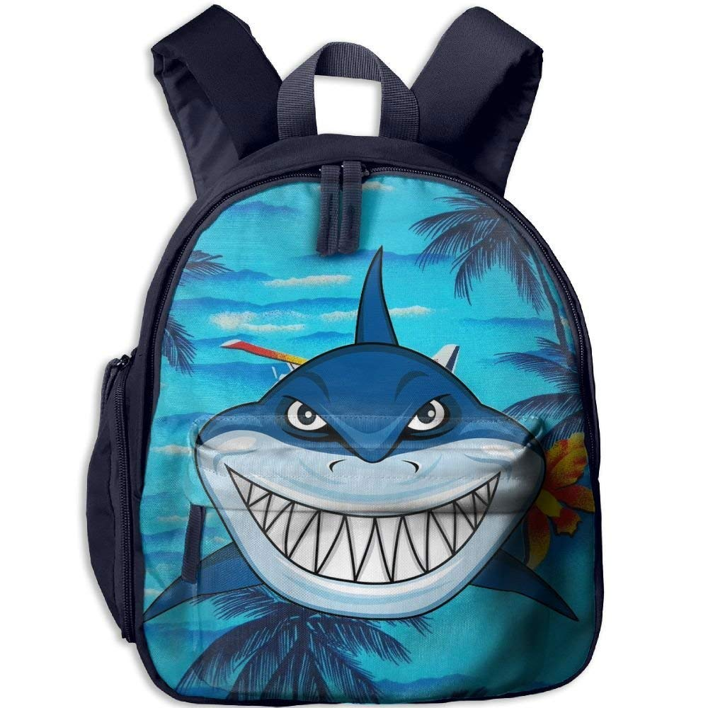Scary Scary Scary Shark Fierce Toddler Mini Backpack Shoulder Schoolbag with Front Pockets B07LGT5FT1 Daypacks Kompletter Spezifikationsbereich 4aa810