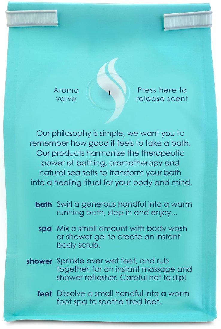 amazon com sleep lavender bath salts 2 lb luxury bag bath amazon com sleep lavender bath salts 2 lb luxury bag bath minerals and salts beauty