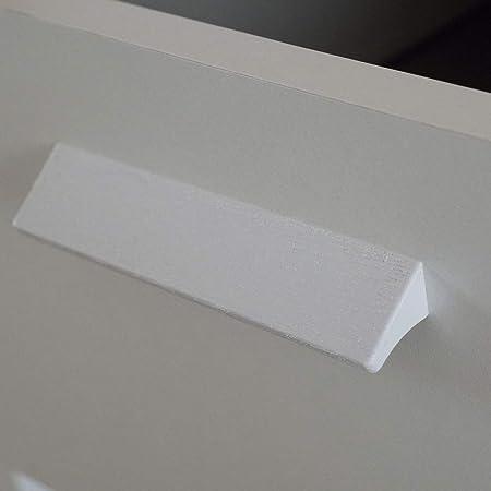 Miroytengo Comoda 4 cajones Teb habitacion Juvenil Dormitorio Infantil Matrimonio Blanco Estilo Moderno 78x74x40 cm