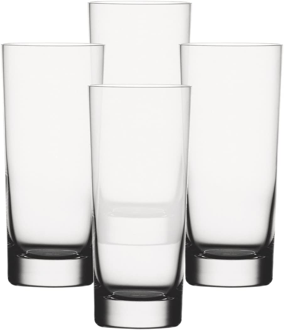 Spiegelau 9000172 Vaso Largo 4 Pieza(s) 360 ml - Vasos Largos (Transparente, Vidrio, 4 Pieza(s), Alrededor, 360 ml, 69 mm)