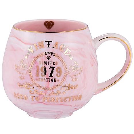 Amazon.com: Tazas de cumpleaños número 20., Marble: Kitchen ...