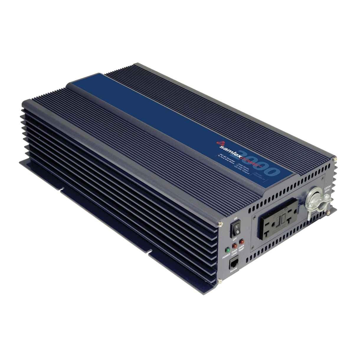 2. Samlex America PST-2000-12 PST Series Pure Sine Wave Inverter