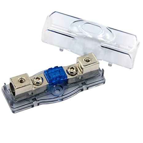 Amazon.com: ZOOKOTO 60A Car Audio Power Wire Fuse Holder, Car Boat