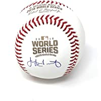 $149 » Jake Arrieta Chicago Cubs Signed Autograph Official MLB World Series Baseball MLB Certified