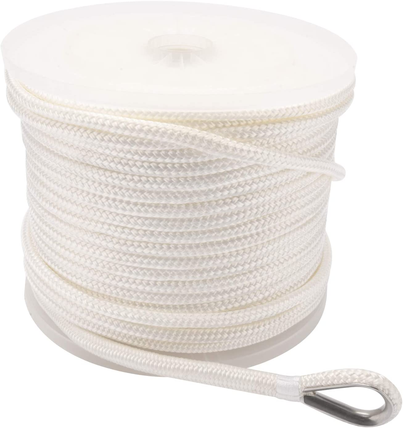 NovelBee 3 8 Inch X 600 Feet Outlet SALE Max 50% OFF Line Double with Nylon Anchor Braid