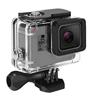 Amazon.com: Funda impermeable para GoPro Hero 7 Hero 6 Hero ...