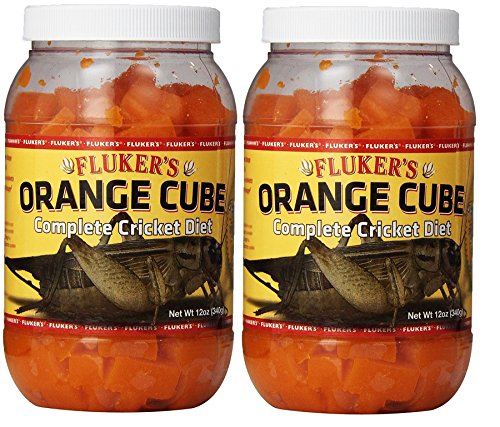 Fluker's Orange Cube Complete Cricket Diet (12 ounce (2 Pack))
