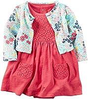 Carter's Baby Girls' 2 Piece Floral Dress Set