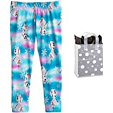 2a3eb7299 Disney Little Girls' Frozen Olaf Snowflake Leggings and Bag - Multi-Pack