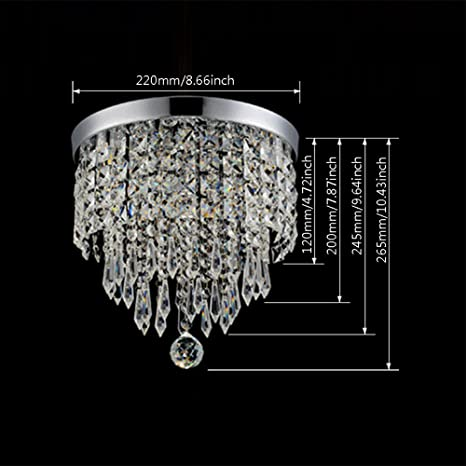 Hile Lighting KU Modern Chandelier Crystal Ball Fixture - 66 most creative and original pendant lamps ever