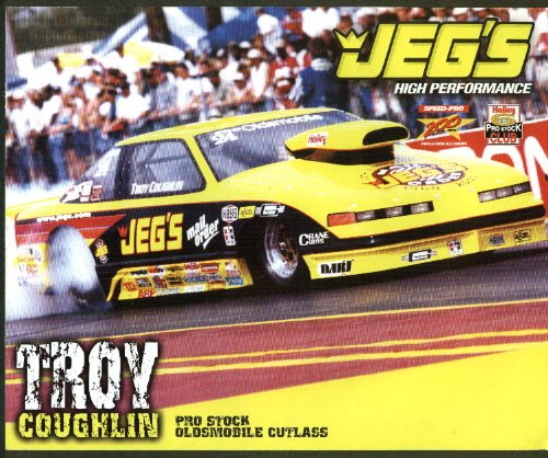Troy Coughlin JEG's Pro Stock Oldsmobile Cutlass NHRA print 2000 (Cutlass Stock)