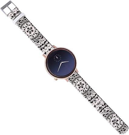 Amazon.com: Pebble Time Round Band Women,14Mm Watch Strap ...