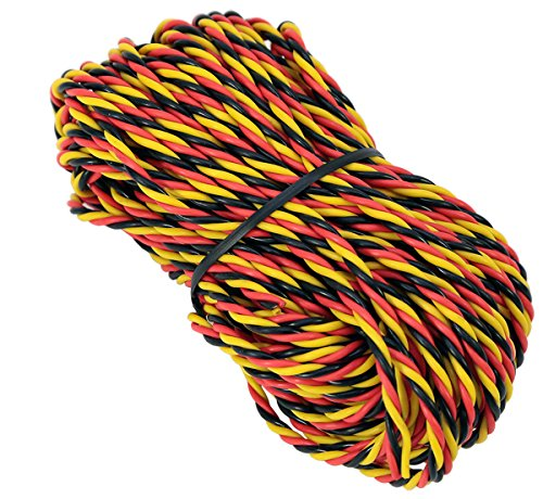 50ft. 22AWG Twisted Wire (Hitec)