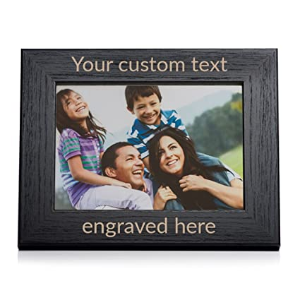 Amazon Create Your Own Personalized Picture Frame Black 5
